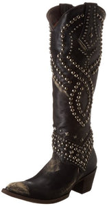 Old Gringo Women's Belinda Western Boot,Black/Beige,10 B US