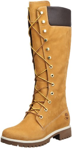 Timberland Women's 14 Inch Premium WP Knee-High Boot,Wheat,9 W US