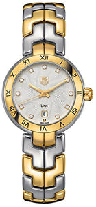 TAG Heuer Women's WAT1450.BB0955 Diamond-Accented Two-Tone Bracelet Watch