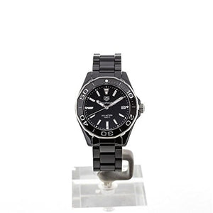 Tag Heuer Aquaracer Lady 300M 35mm Black Ceramic Watch WAY1390.BH0716