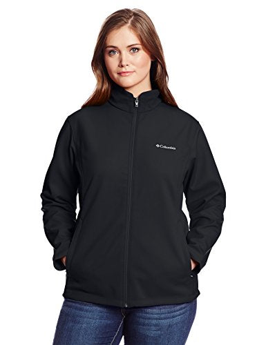 Columbia Women's Plus-Size Kruser Ridge Softshell Plus, Black, 2X
