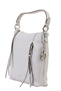 MICHAEL MICHAEL KORS Corinne Large Leather Shoulder Bag, Dove