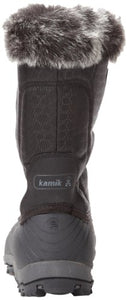 Kamik Women's Momentum Snow Boot,Black,8 M US
