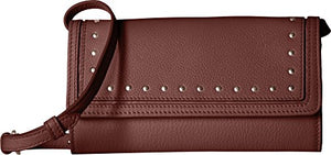 Cole Haan Cassidy Smartphone Wallet Crossbody Clutch Bag, Fired Brick