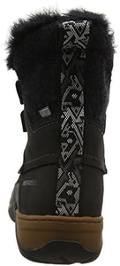 Merrell Women's Sylva Mid Lace Waterproof Winter Boot, Black, 5.5 M US