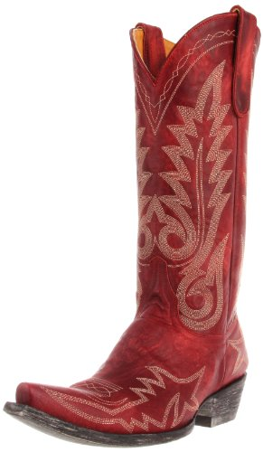 Old Gringo Women's Nevada Western Boot,Red,7 B US