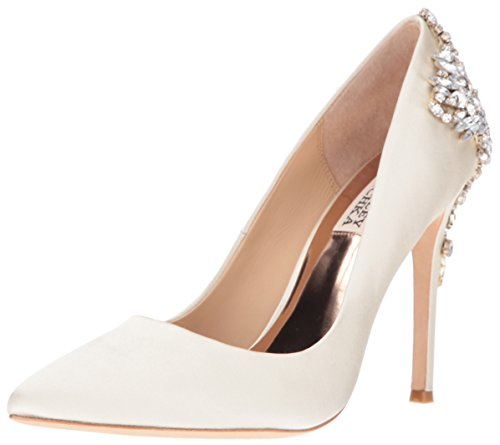 Badgley Mischka Women's Gorgeous Dress Pump, Ivory, 7.5 M US