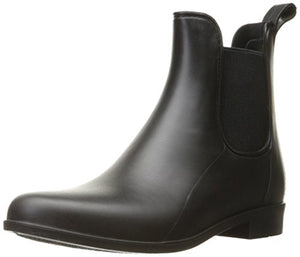 Sam Edelman Women's Tinsley Rain Boot, Black Matte, 7 M US