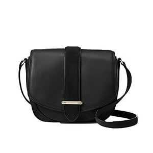 Kate Spade Hunts Place Marsi Leather Suede Crossbody, Black