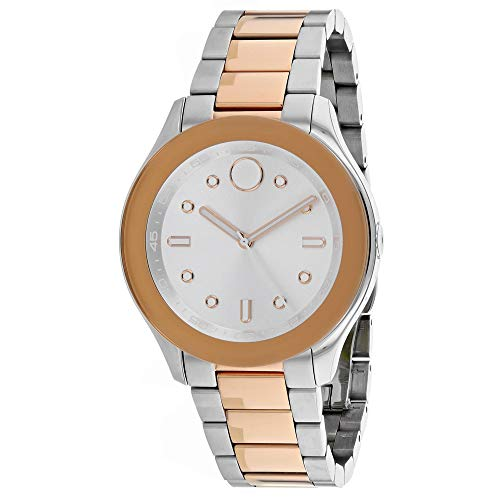 Movado Women's Bold Silver Dial Watch - 3600430