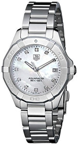 TAG Heuer Women's Aquaracer Diamond Accented Stainless Steel Watch
