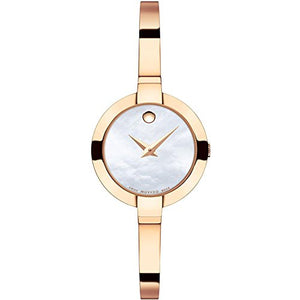 Movado Women's Bella White MOP Dial Watch - 607082