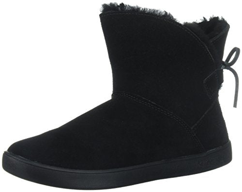Koolaburra by UGG Women's Shazi Mini Fashion Boot, Black, 09 M US