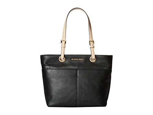 Michael Kors Bedford Top Zip Pocket Tote (Black)