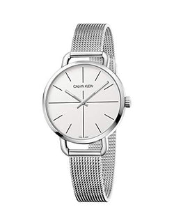 Calvin Klein Unisex Adult Analogue-Digital Quartz Watch with Stainless Steel Strap K7B23126
