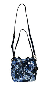 217bbf6d20cff8 MICHAEL Michael Kors GREENWICH Women's Shoulder Medium Bucket bag Handbag  (Navy)