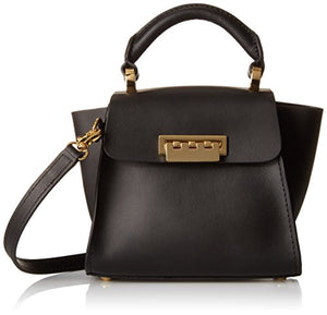 ZAC Zac Posen Eartha Iconic Top Handle Mini Convertible Cross Body, Black