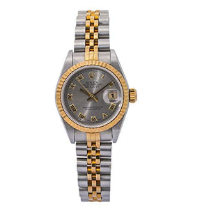 Rolex Datejust Swiss-Automatic Female Watch 69173 (Certified Pre-Owned)