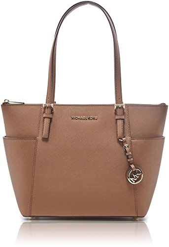 MICHAEL Michael Kors Jet Set Top-Zip Tote (Acorn)