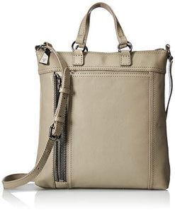 FRYE Lena Zip Small Tote Crossbody Bag, grey