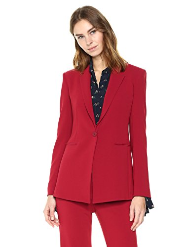 Theory Women's Power JKT 2, Bright Raspberry, 8
