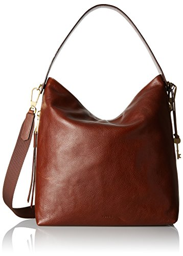 Fossil Maya Large Hobo Handbag, Brown