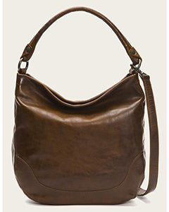 Frye Women's Melissa Hobo Bag, Dark Brown, One Size