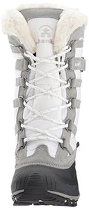 Kamik Women's Snowvalley Winter Snow Boot ,White WH2,8 M US