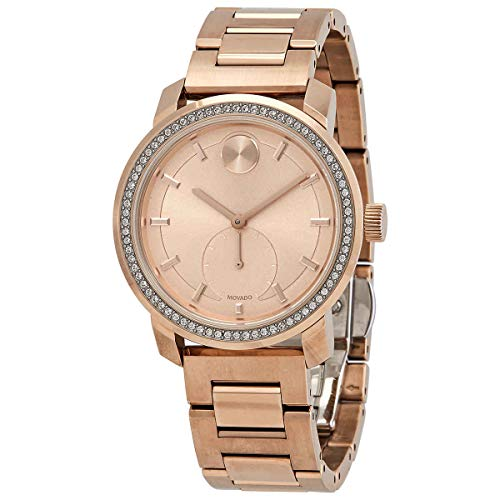Movado Bold Quartz Crystal Ladies Watch 3600618