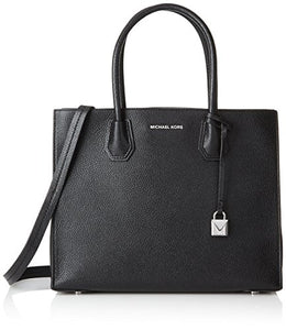 MICHAEL Michael Kors Studio Mercer Large Convertible Tote, Black 30F6SM9T3L-001
