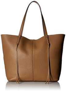Rebecca Minkoff Medium Unlined Tote with Whipstich, Almond