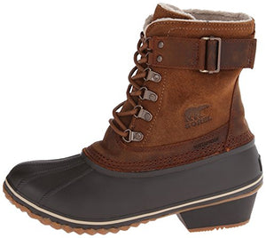 Sorel Women's Winter Fancy Lace II Boot,Elk/Grizzly Bear,8 M US