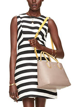 Kate Spade Woods Drive Bodie Colorblock Crossbody Open Tote Bag, Almond/Yellow