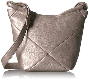 ECCO Linnea Crossbody, grey rose Metallic