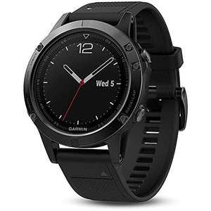 Garmin Fenix 5 Sapphire - Black with Black Band