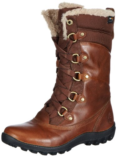 Timberland Women's MT Hope Mid L/F WP Boot,Tobacco,7 M US