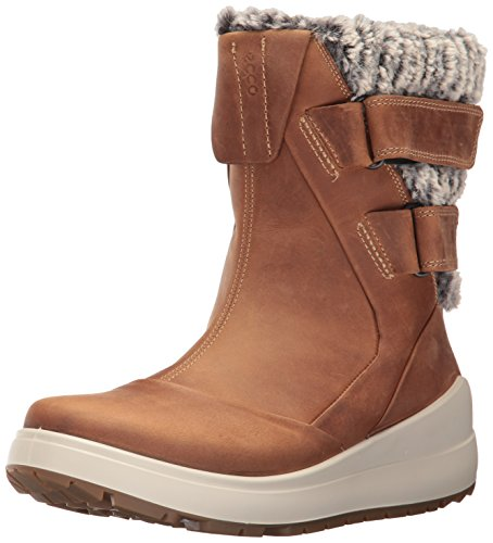 ECCO Women's Noyce Snow Boot, Cashmere, 41 EU/10-10.5 US
