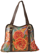 Anuschka 502 Tote,Python Bloom,One Size