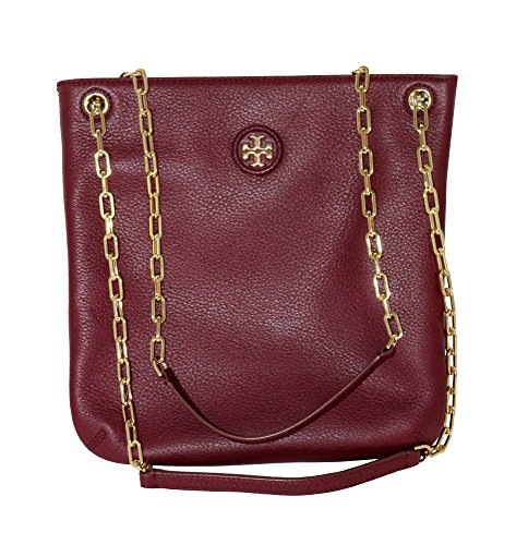 Tory Burch Women's Whipstitch Logo Swingpack Hobo Shoulder Bag 40913