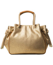 MICHAEL Michael Kors Dalia Large Shoulder Tote (Gold)