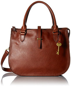 Fossil Ryder Satchel, Brown