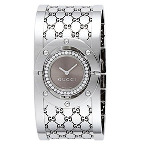 GUCCI Women's YA112416 Twirl Brown Dial Watch