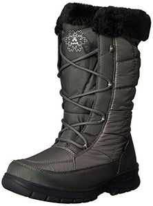 Kamik Women's Newyork2 Insulated Winter Boot, Charcoal, 7 M US