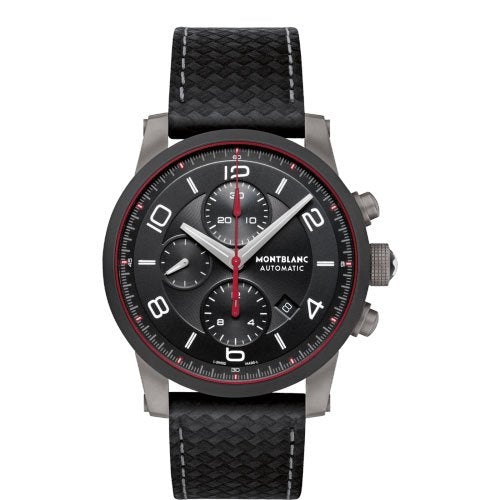 MONTBLANC WATCH TIMEWALKER STEEL & CERAMIC COLLECTION 112604