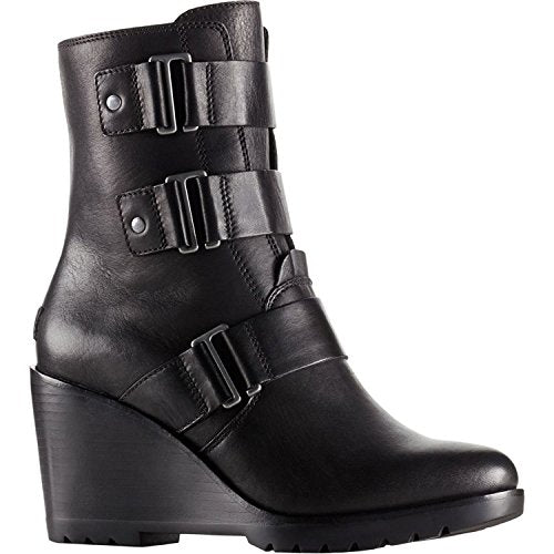 SOREL Women's After Hours Booties, Black, 9 B(M) US