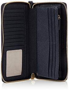 Michael Michael Kors Womens Michael Michael Kors Jet Set Large Leather Continental Wallet