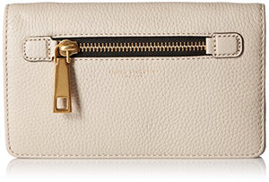 Marc Jacobs Gotham Leather Crossbody Strap Wallet, Pebble, One Size