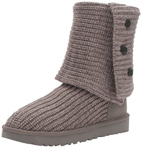 UGG Women's Classic Cardy Winter Boot, Grey, 7 B US