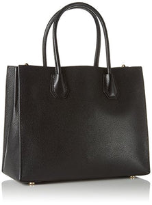 MICHAEL Michael Kors Women's Mercer Tote, Black, One Size