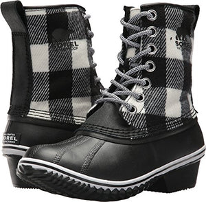 SOREL Women's Slimpack 1964 Black/White 5 B US